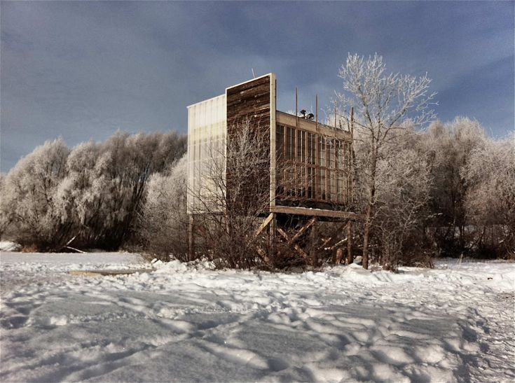 Image 1 of 26 from gallery of Oxbow Field Station / Eduard Epp & University of Manitoba Students. Photograph by Eduard Epp