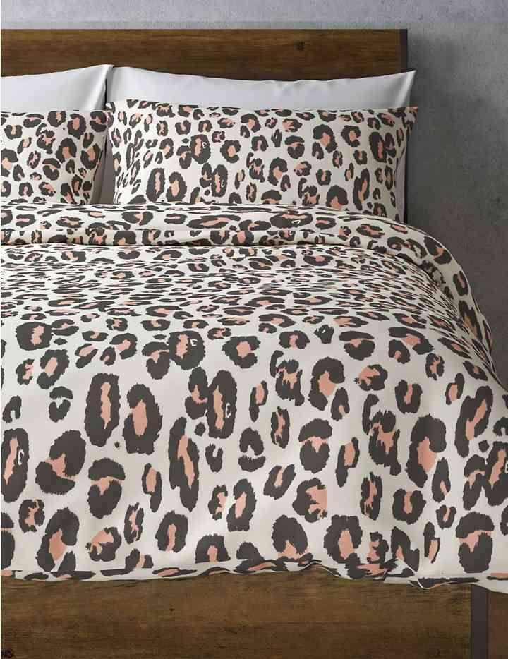 Leopard Print Bedding Set Leopard Print Bedding Duvet Bedding