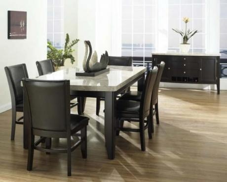 angelo marble dining table server dining living room furniture toronto