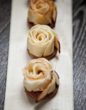 Tarte fleur de pomme de Christophe Michalak
