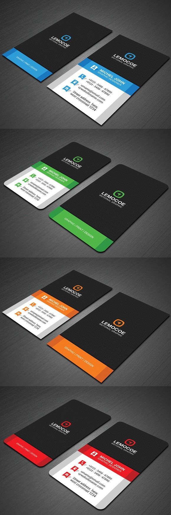 Vertical business card template etamemibawa vertical business card template fbccfo Images