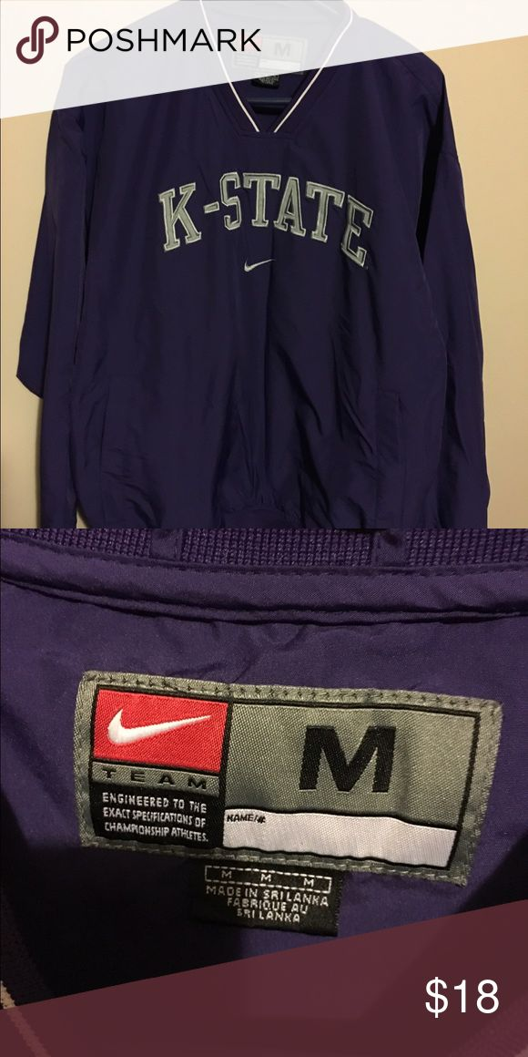 🏈Nike K State Pullover🏈 Like new pullover windbreaker Nike Jackets & Coats Windbreakers