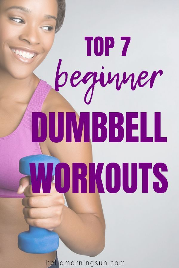 Top 7 Beginner Dumbbell Workouts | Fitness Motivation