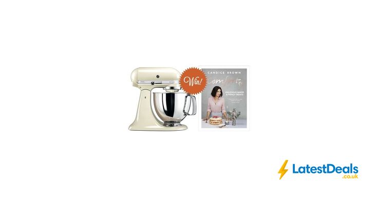 Win a KitchenAid Artisan Stand Mixer and a copy of Candice Brown's Comfort