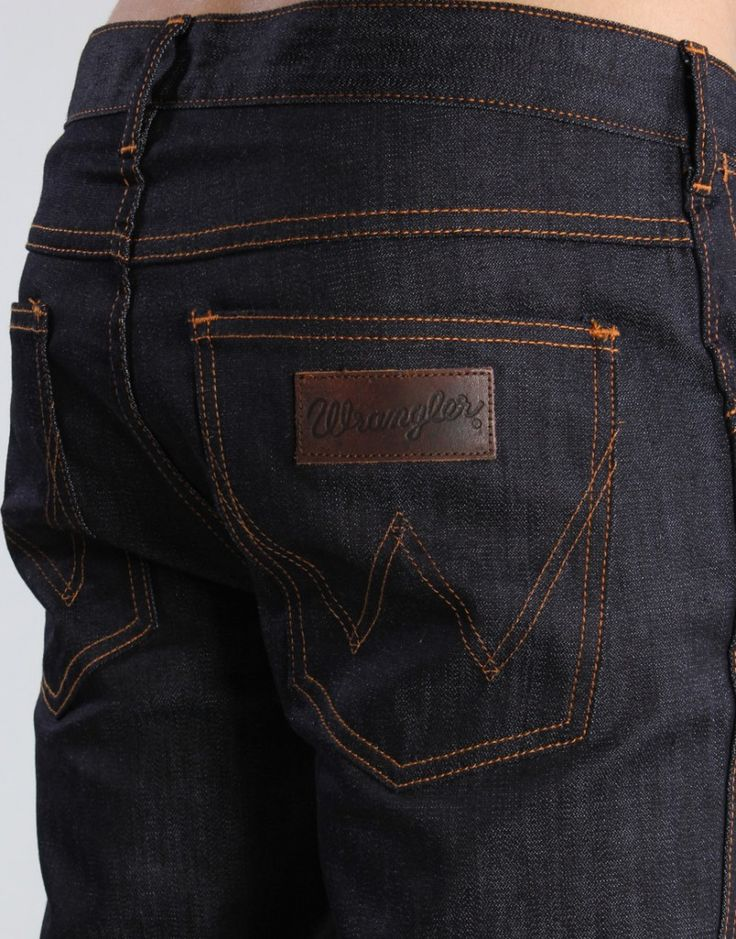 This is a good color and cut for men's pants.  A Brief History of Wrangler Jeans