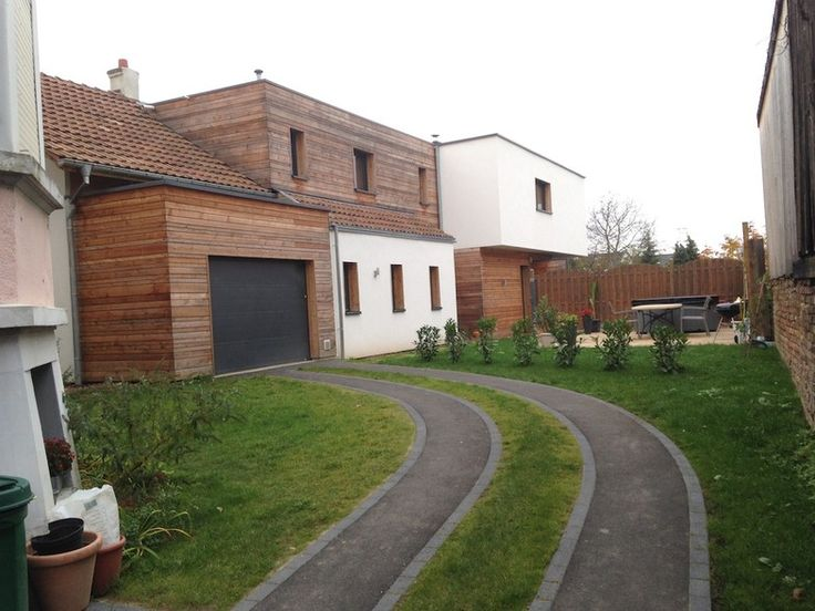 Extension D 39 Une Grange En Maison Individuelle Par Esquisse
