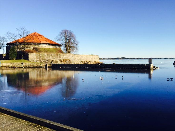 Kristiansand Festning.