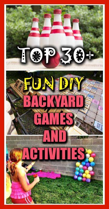 Top 30+ Fun DIY Backyard Games and Activities