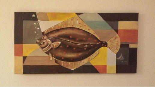 Cubist Plattfish