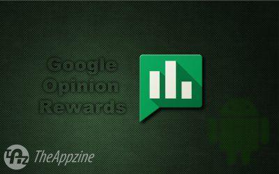 Earn free Google Play credits with Google opinion rewards