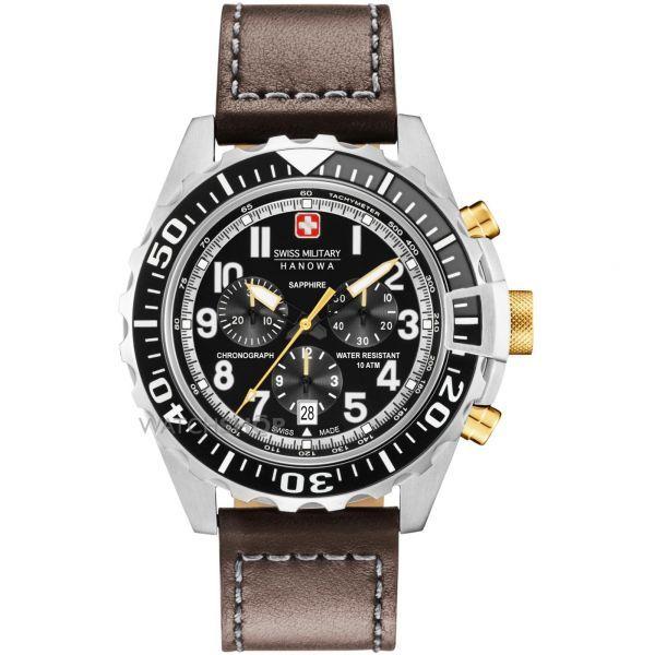 Mens Swiss Military Hanowa Touchdown Chrono Chronograph Watch #menwatch #buymenwatchonline  #shopmenwatchonline  buy men watch online , shop men watch online