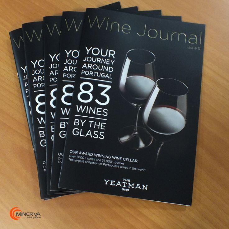 Catálogo para Wine Journal.