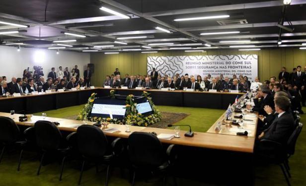 Brasil instó a reforzar seguridad fronteriza