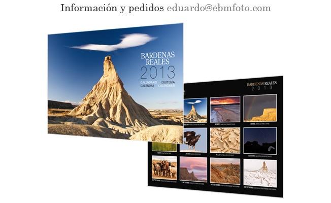 Calendario / Calendar / Calendrier / Egutegia Bardenas Reales 2013  $11 €10