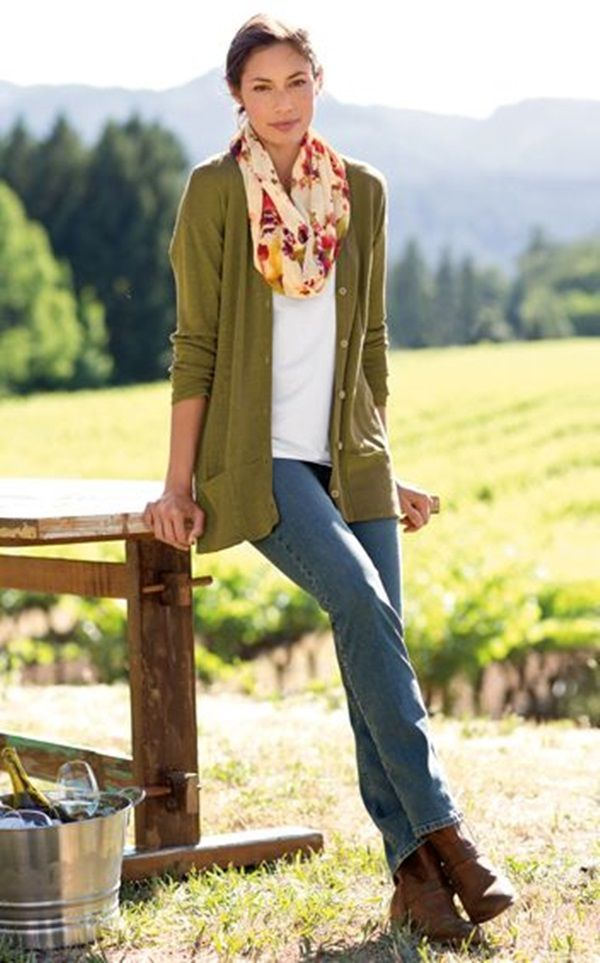 40 Stylish Fall Outfits For Women | http://stylishwife.com/2014/09/stylish-fall-outfits-for-women.html: