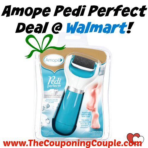 WOW GREAT PRICE! Amope Pedi Perfect Deal @ Walmart!  Click the link below to get all of the details ► http://www.thecouponingcouple.com/amope-pedi-perfect-deal-walmart/ #Coupons #Couponing #CouponCommunity  Visit us at http://www.thecouponingcouple.com for more great posts!