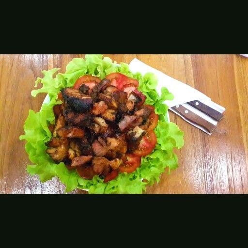 Pork knuckle... #pork #yummy