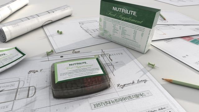 Nutrilite Package Date: Dec.2015 Client : Amway Korea Agency: TBWA, Fournines Work: Art Direction,Design, Motion _  Credit  Direction: EunAh Kim (Fournines) Art Directior : Taiho Roh (Daft) Project Plan: TBWA Korea Design & 2D Artist : Taiho Roh(Daft)  3D Artist: Taiho Roh(Daft) , Sangjun Yoo(Saltar)  Detail: http://www.mainconcep-t.com