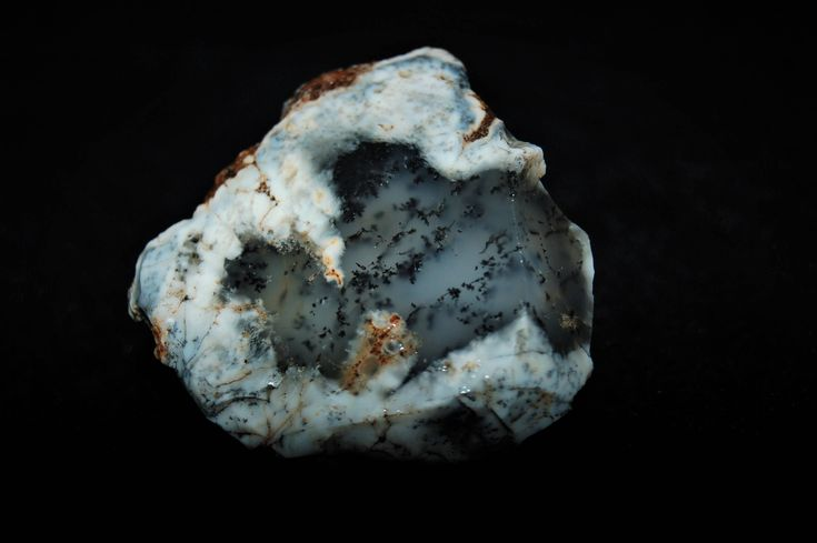 145 Gr Dendritic Agate Rare Special Piece Natural Rough