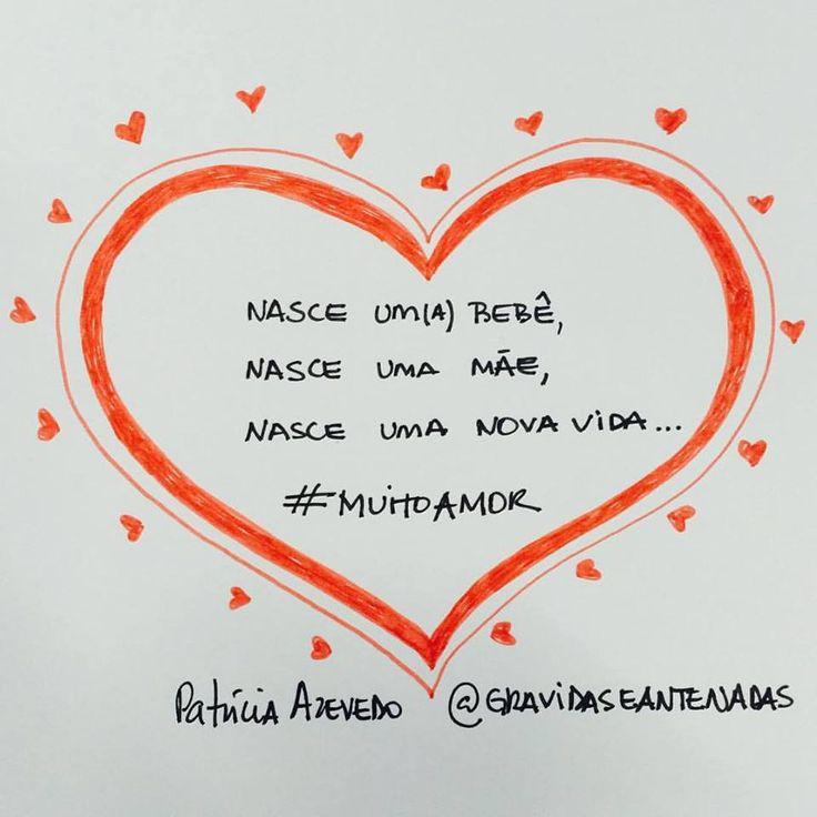 Verdades maternas com #muitoamor abre nosso dia hoje! ➡www.gravidaseantenadas.com.br