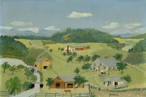 Grandma Moses ~ The Old Oaken Bucket