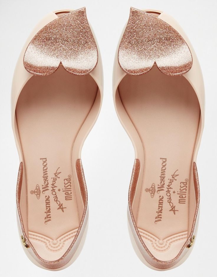 Image 3 of Vivienne Westwood For Melissa Blush Queen Flat Shoes