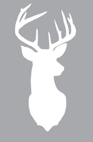 565272190700644074 Deer Head Silhouette. Free printout