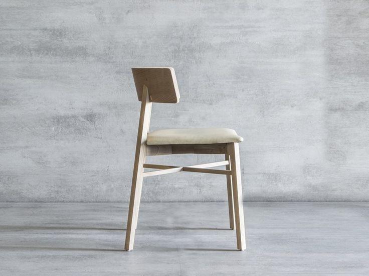 Cadeira de madeira maciça TRIANGOLO - Tonon