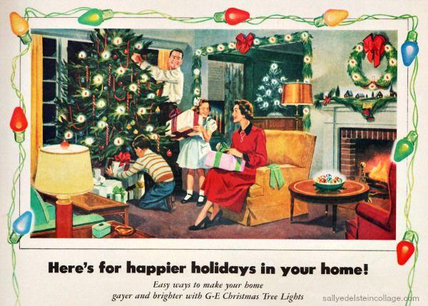 34 best 1950's Vintage Christmas Decor images on Pinterest ...