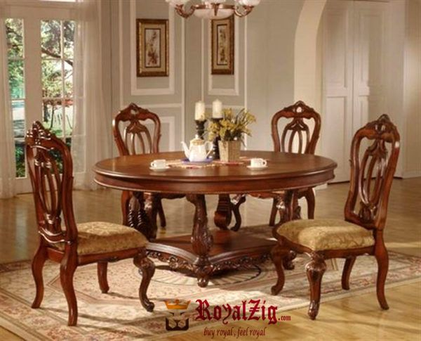 Italian Style Solid Wood Crafted Dining Table Wooden Dining Table Designs Dining Table Design Wooden Dining Tables Solid oak table and chairs