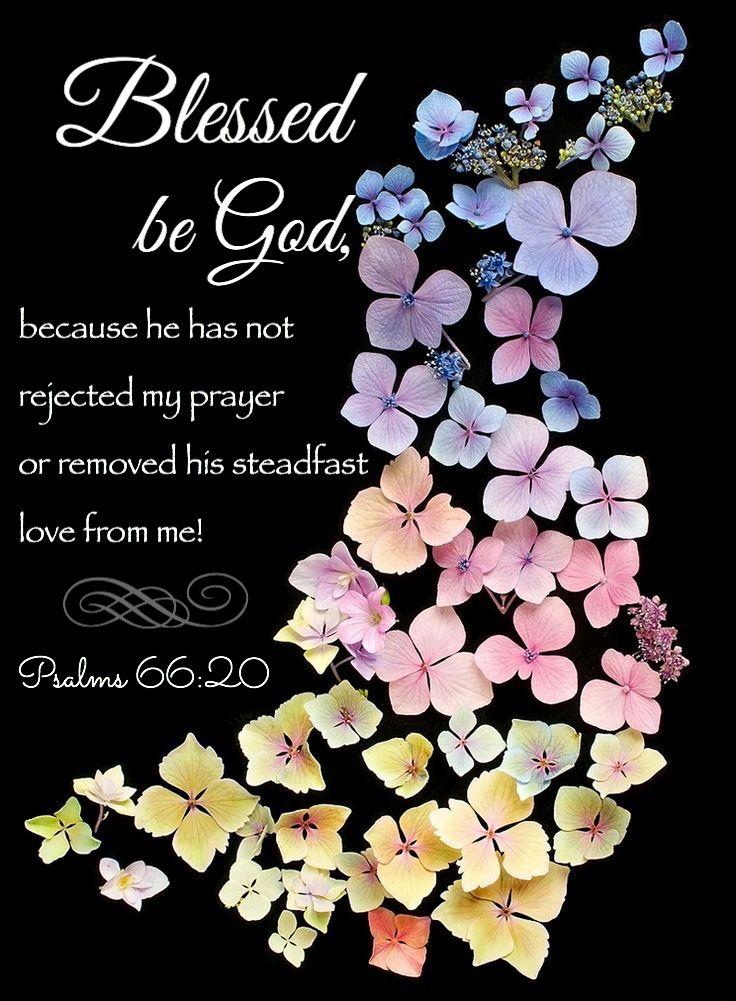 ✞❣ Psalm 66:20