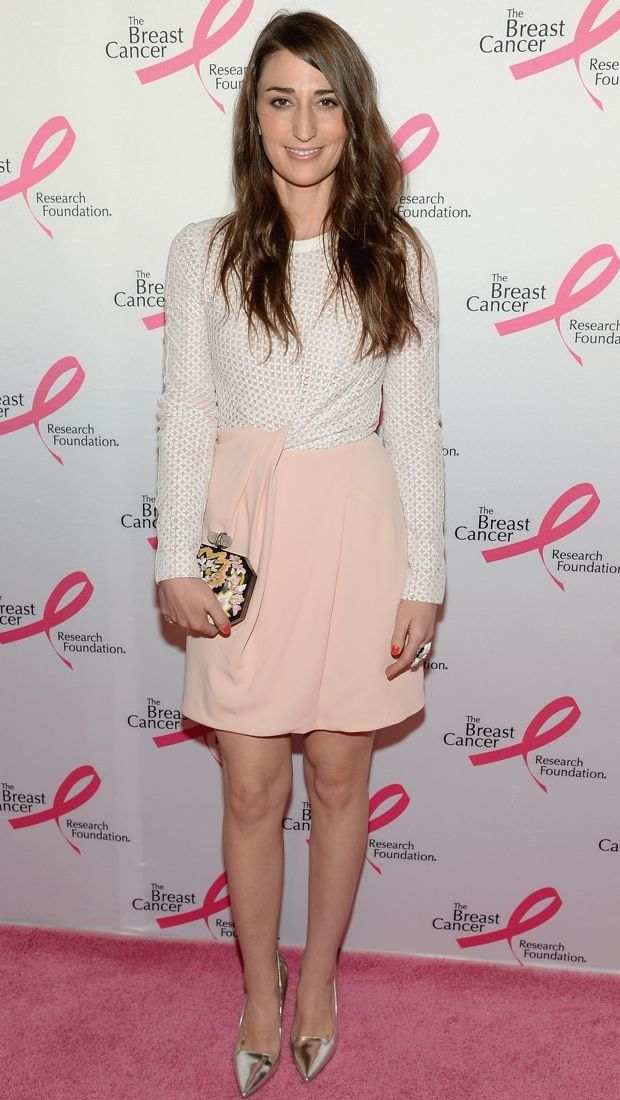 Sara Bareilles Steps Out on the Pink Carpet in J. Mendel's Sporty Spring 2014 Dress