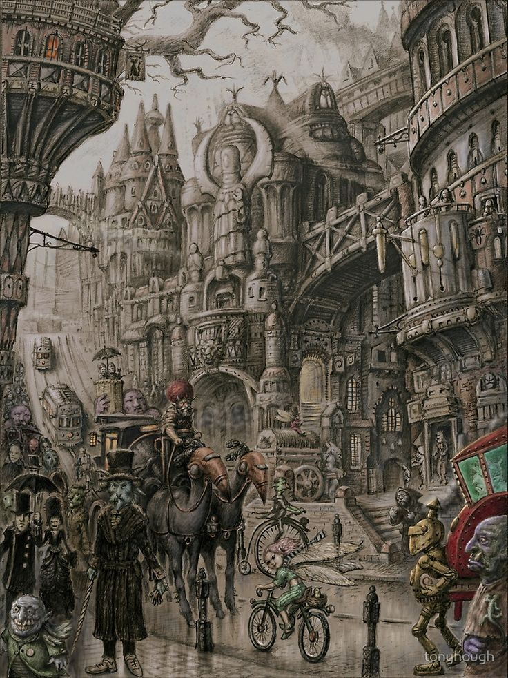 """""""Suidemor, City of the Elder Fey"""" by tonyhough   Redbubble"""