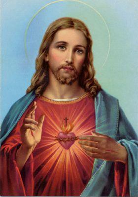 PATTY SALLUMღ✿ Sagrado Coração de Jesus                                                                                                                                                                                 Mais