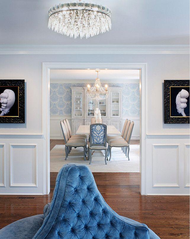 Foyer And Main Floor Rooms Benjamin Moore Shoreline Martha OHara Interiors