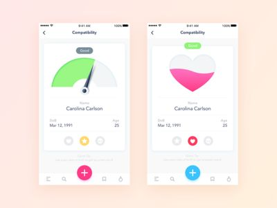 Compatibility App – WIP - App Inspiration