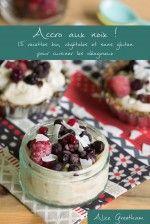 Crèmes crues au sarrasin, chia et thé matcha, coco, pistaches et canneberges (vegan) - Au Vert avec Lili