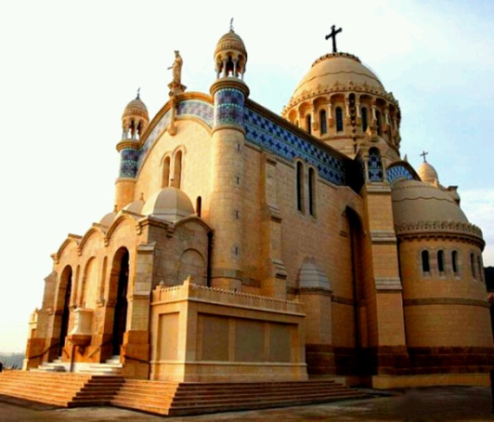Superb The Basilica Of Our Lady Of Africa, Or Notre Dame Du0027Afrique, Was Eventually  Built, And Is Situated On A Height Overlooking The Bay Of Algiers.