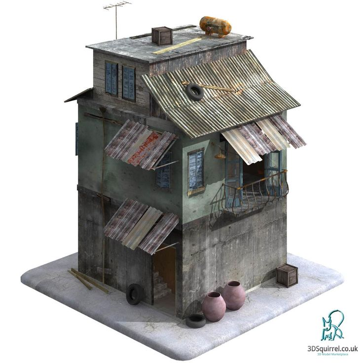 A 3d Model Of A Building Designed Inside And Out In The Style Of A Middle