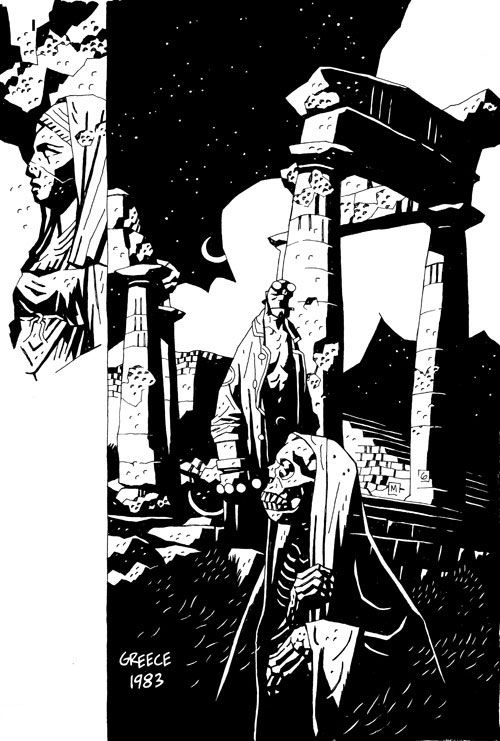 Mike Mignola, Hellboy in Greece