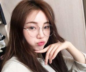 Image result for korean girl glasses