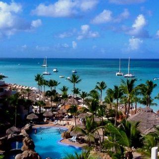 Honeymoon 2007 Playa Linda, Aruba