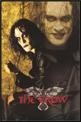 Brandon Lee The Crow. He was great in this movie. He was gone much too soon. Oh, and this goes without saying, but the sequels just don't do this original justice.