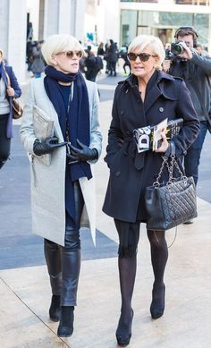 Sophisticated chic | Having twice the fun at New York Fashion Week | 40plusstyle.com