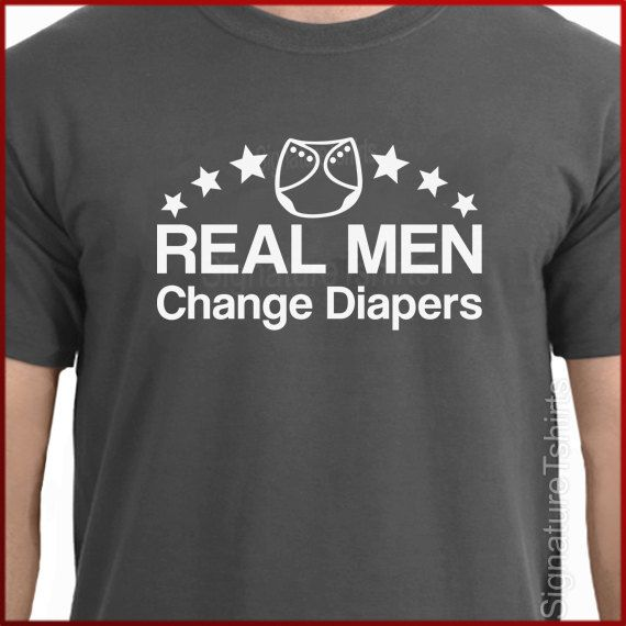 Real+Men+Change+Diapers+tshirt+mens+t+shirt+by+signaturetshirts,+$14.95