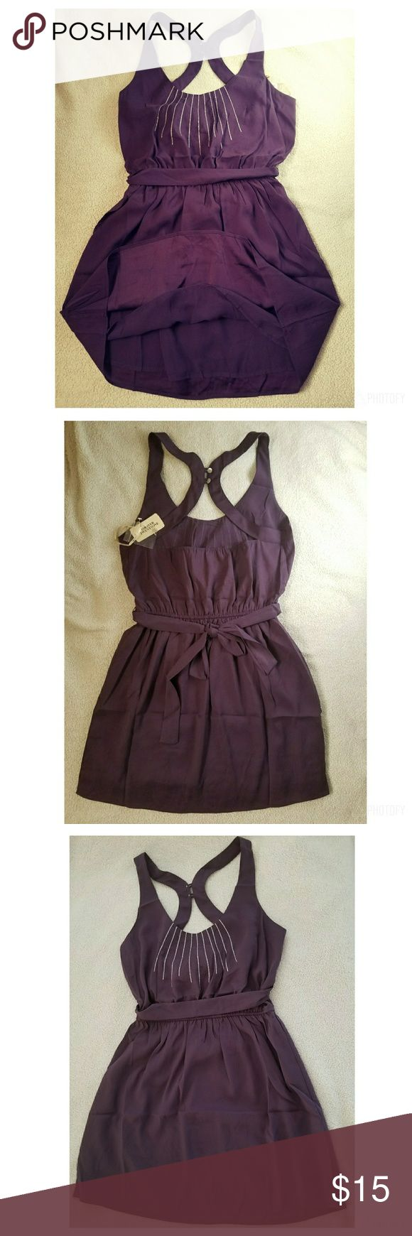 Rory Beca Forever21 Semi Backless Dress, Short. Rory Beca Forever21 Short, Semi Backless Dress, belted. Color is Purple. Item is new with tag. See pictures :) *** Make me an offer, I consider them all! Feel free to ask questions, I'm happy to post more pictures or details at your request.  Let's create your own bundle! Thanks for shopping Nellyscart! Dresses