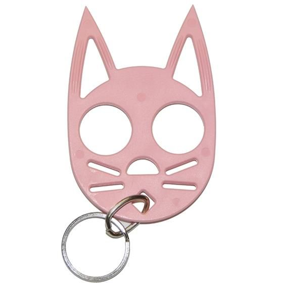 Cat self defense keychain - Pink