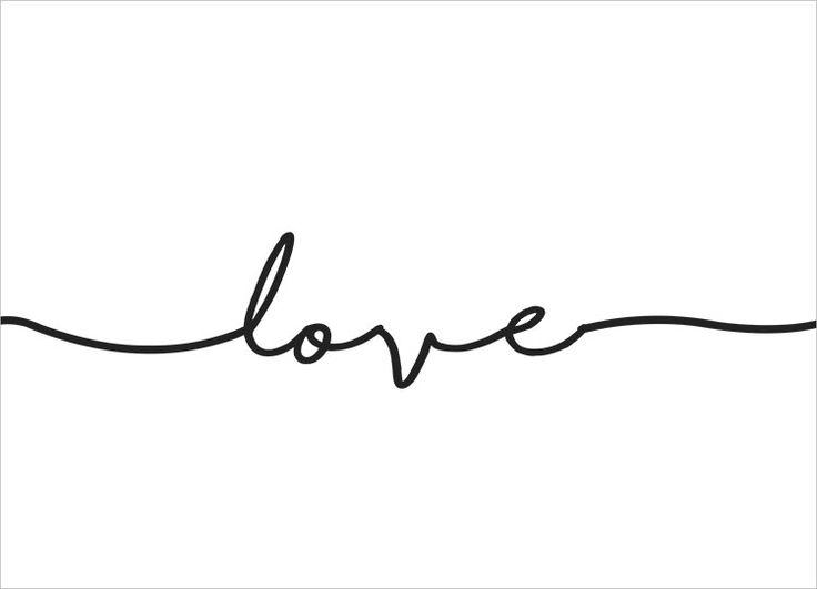 """""""Love"""" - Print zum freien Download von Dinchen´s World"""