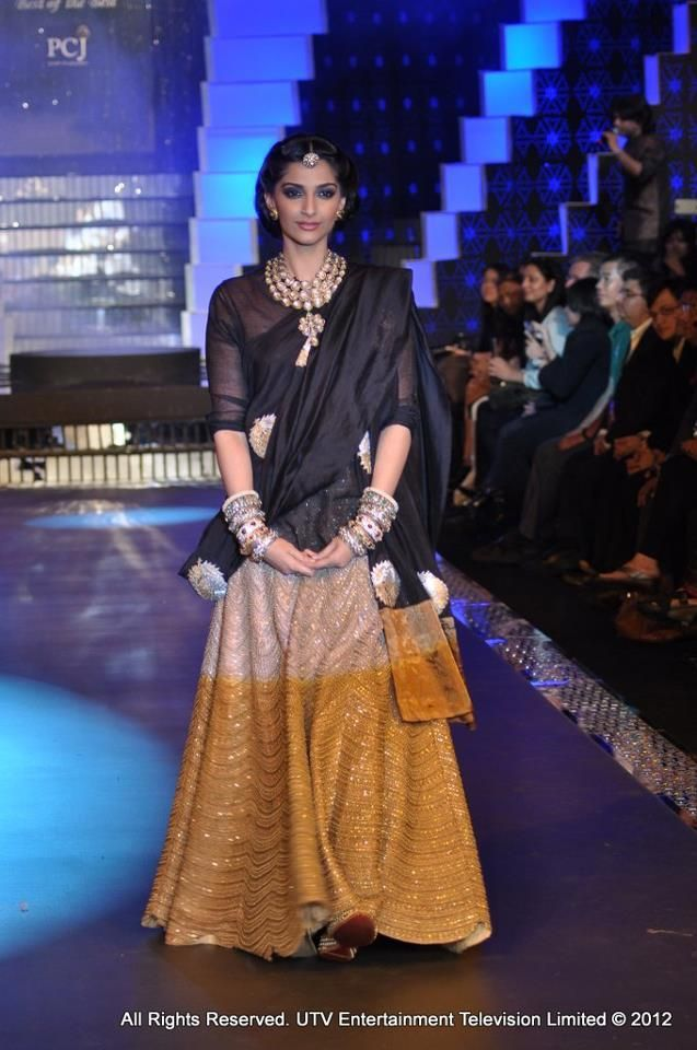 Anamika Khanna- outfit for someone at Sangeet