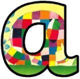 om uit te printen, letters van het alfabet in allerlei thema's....